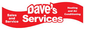Dave's Services A/C & Heating Logo